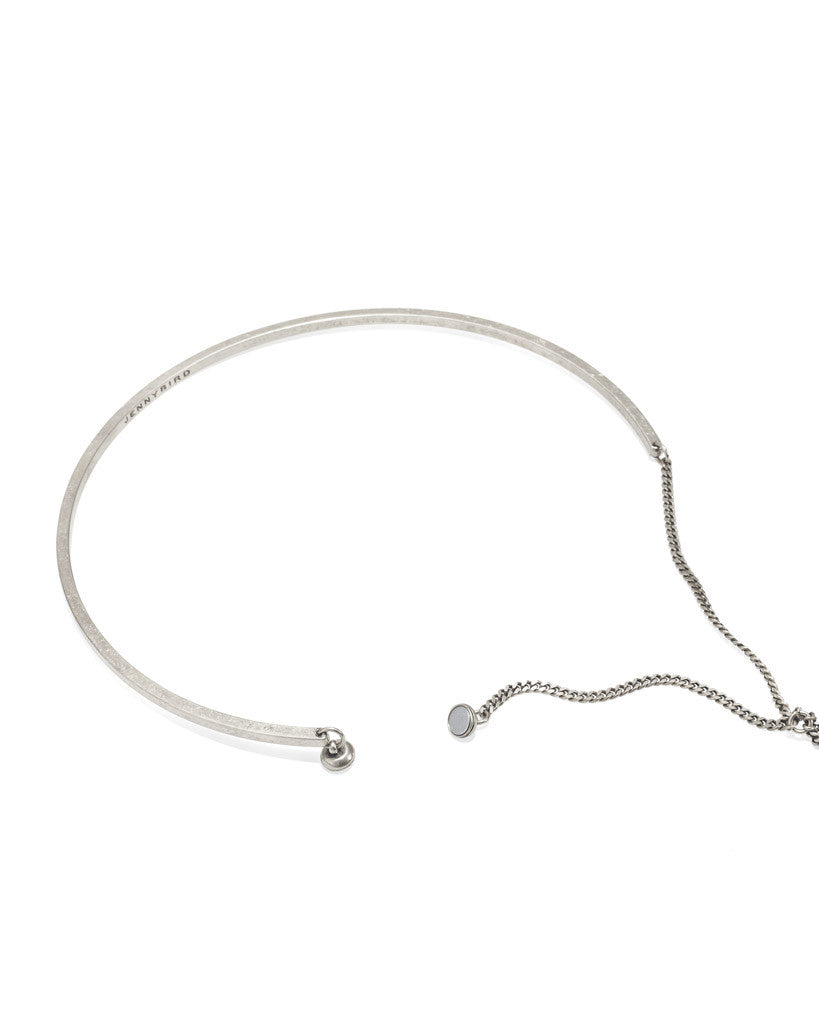 Jenny Bird Skye Lariat Necklace in Silver - SWANK - Jewelry - 3