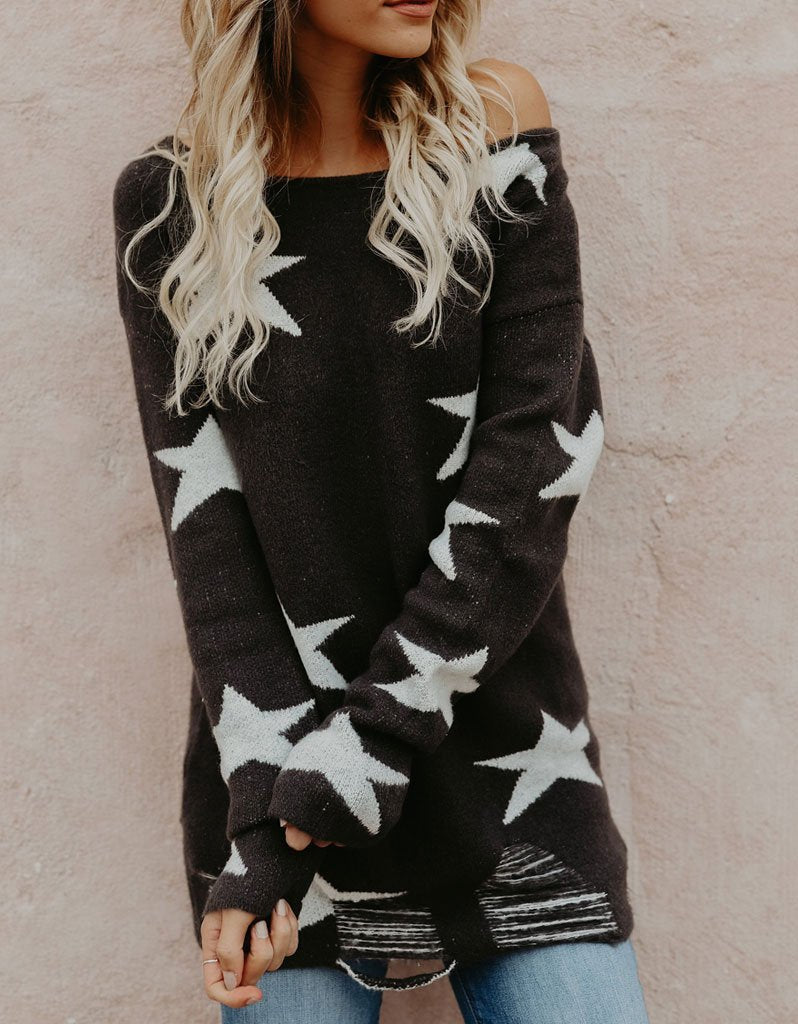 Starstruck Sweater in Charcoal