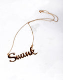 Gold Swank Necklace - SWANK - Jewelry - 4