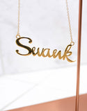 Gold Swank Necklace - SWANK - Jewelry - 2