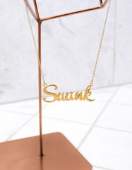 Gold Swank Necklace