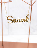 Gold Swank Necklace - SWANK - Jewelry - 3