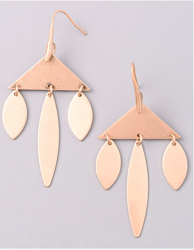 VINTAGE-SNOOT-TRIANGLE-CHANDELIER-EARRINGS-GOLD