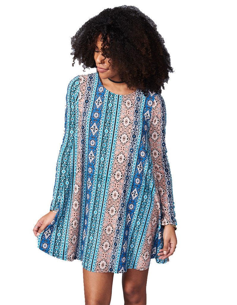 Show Me Your Mumu Tyler Tunic in Lucky Charmer - SWANK - Dresses - 1