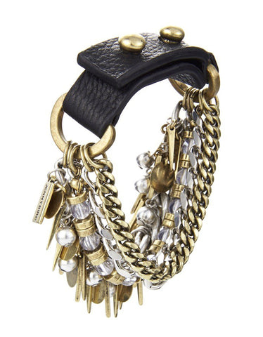 Jenny Bird Chamber Cuff in Gold and Silver