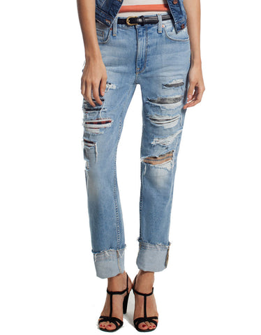 Genetic Denim Slim High-Rise Skinny in Tribute