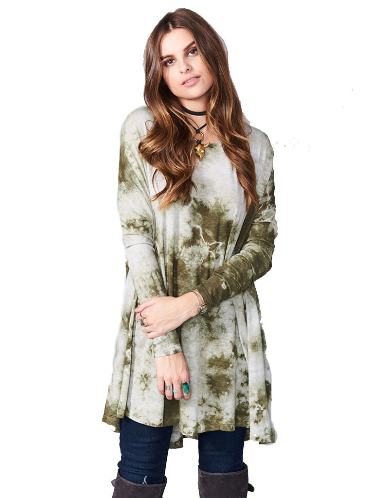 Show Me Your Mumu Will Tunic in Gator Tie Dye - SWANK - Dresses - 1