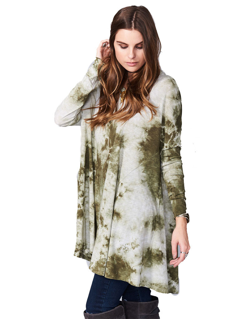 Show Me Your Mumu Will Tunic in Gator Tie Dye - SWANK - Dresses - 2