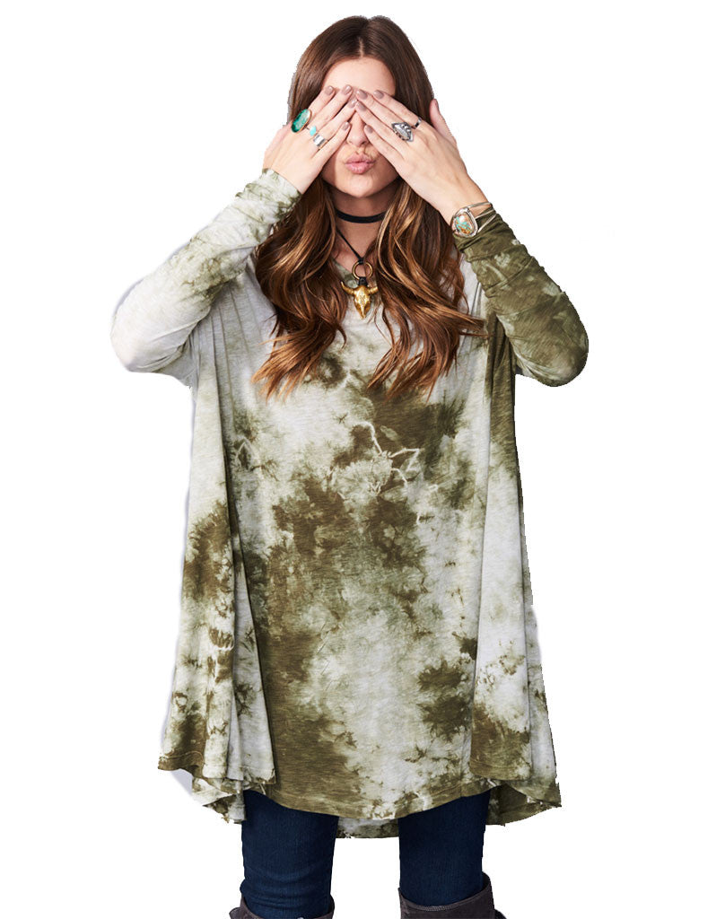 Show Me Your Mumu Will Tunic in Gator Tie Dye - SWANK - Dresses - 3