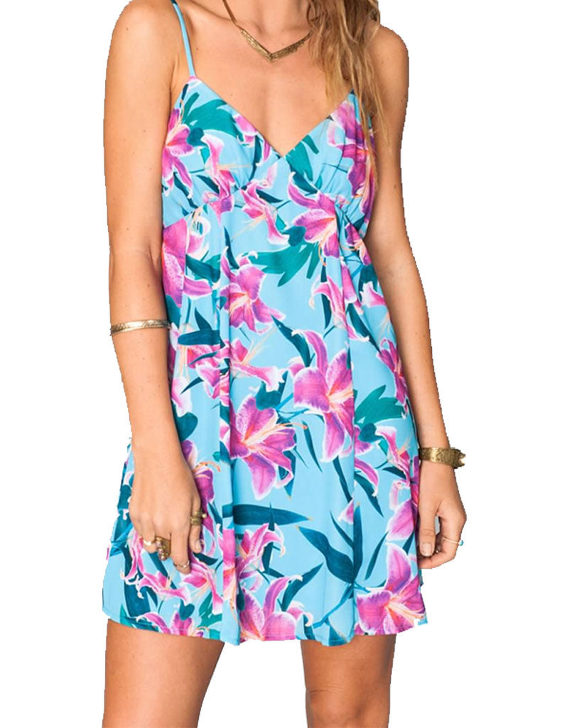 Show Me Your Mumu Winona Strappy Dress in Sea Lilies - SWANK - Dresses - 4