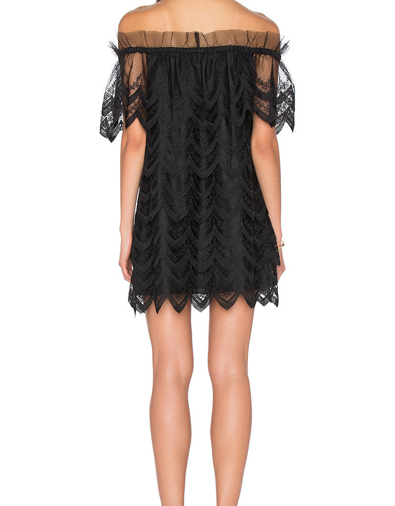 Alexis Ali Dress in Black - SWANK - Dresses - 4