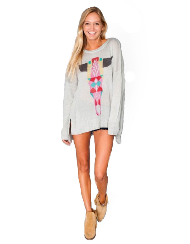 Show Me Your Mumu Bonfire Sweater in Bright Bull - SWANK - Tops - 2