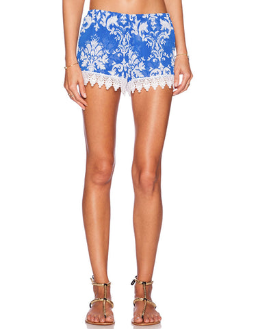 Show Me Your Mumu Bri Lacey Shorts in Athena