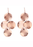Small Disc Chandelier Earrings - SWANK - Jewelry - 2