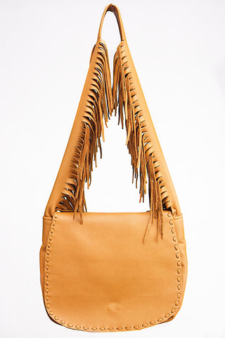 Apachita Earth Handbag with Fringe
