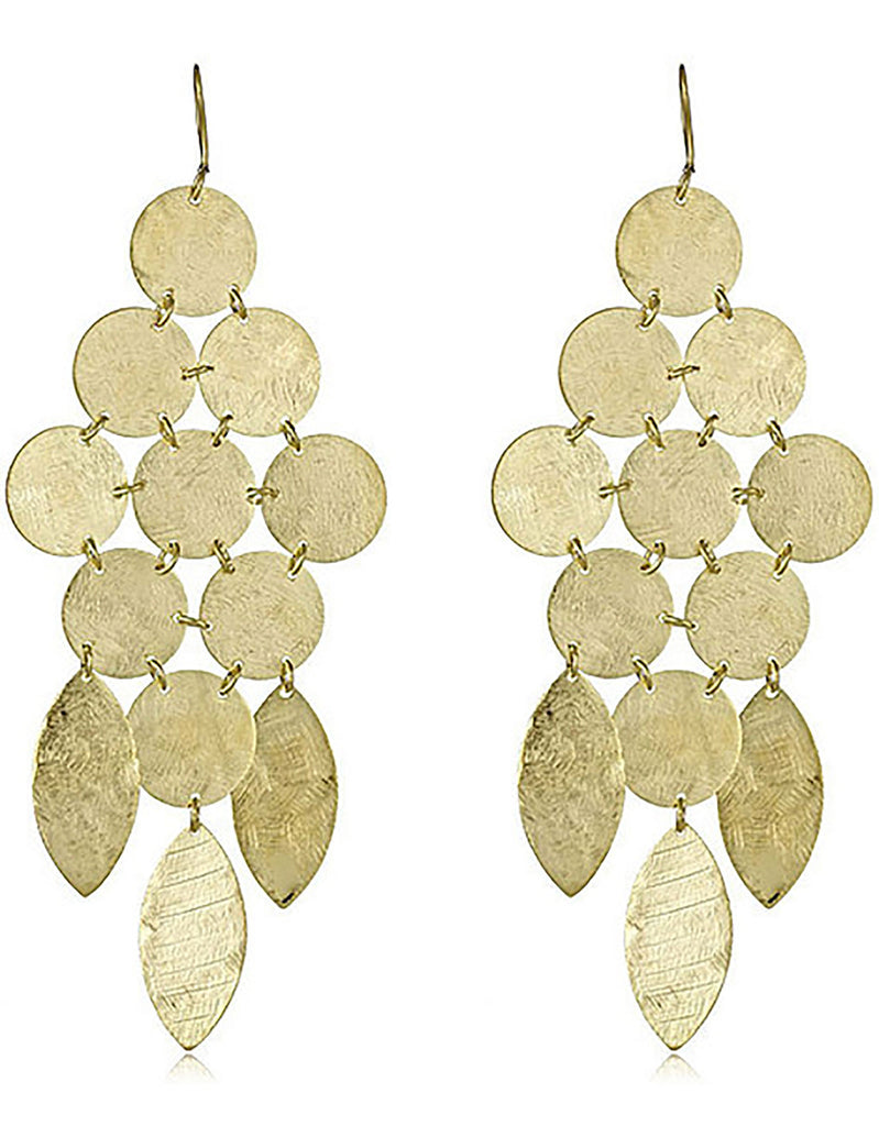 Chandelier Earrings in Gold - SWANK - Jewelry - 5