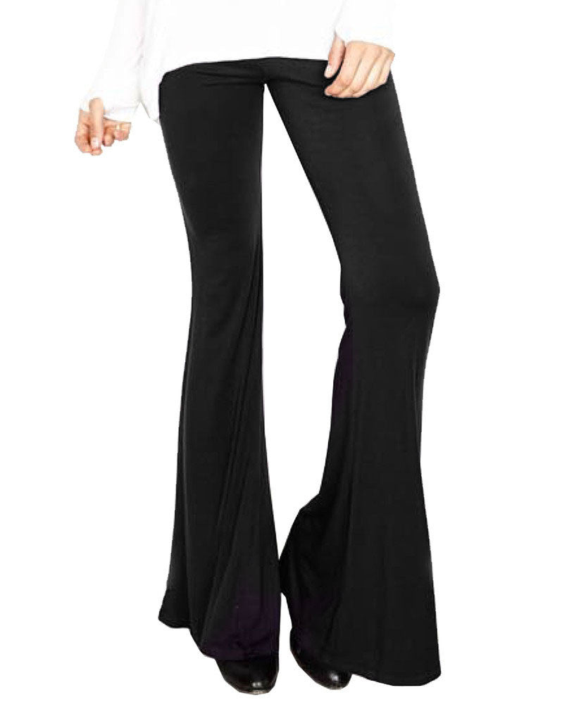 Michael Lauren Mars Bell Pant in Black - SWANK - Pants - 2