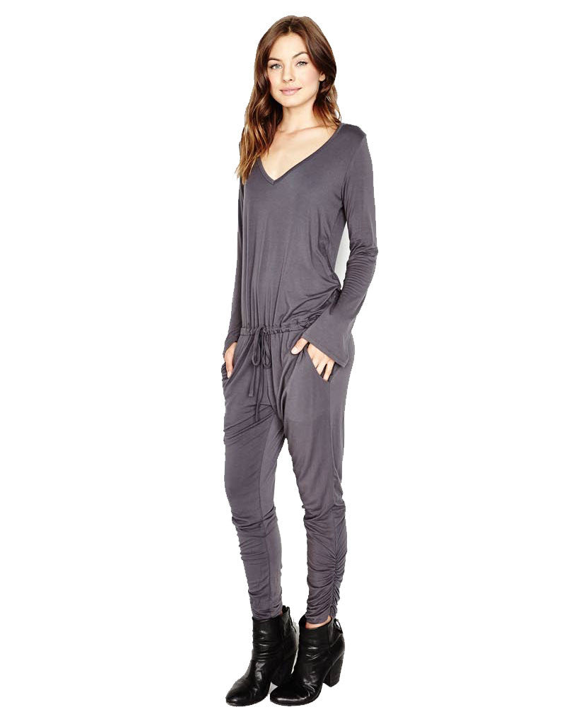 Michael Lauren Rook Jumpsuit in Polar Grey - SWANK - Jumpsuits - 1