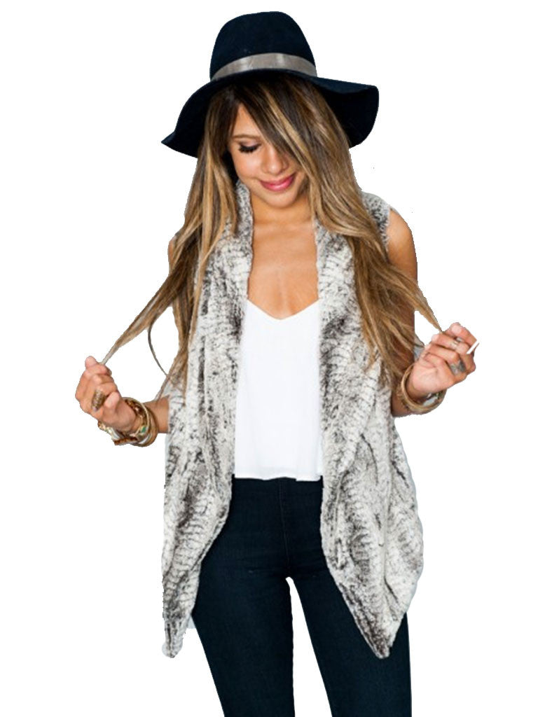 Show Me Your Mumu Fausta Vest in Queen Frost - SWANK - Outerwear - 4