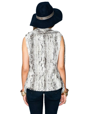Show Me Your Mumu Fausta Vest in Queen Frost