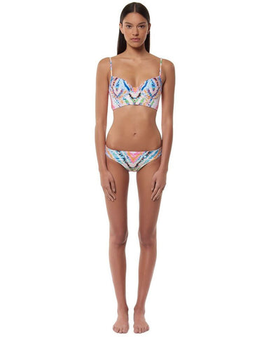 Mara Hoffman Classic Swim Bottom in Rainbow
