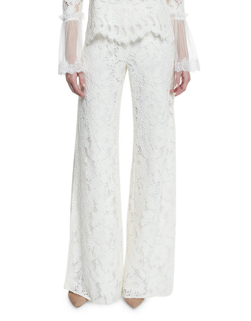 Alexis Rina Lace Pants in Ivory - SWANK - Pants - 2