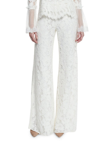 Alexis Rina Lace Pants in Ivory