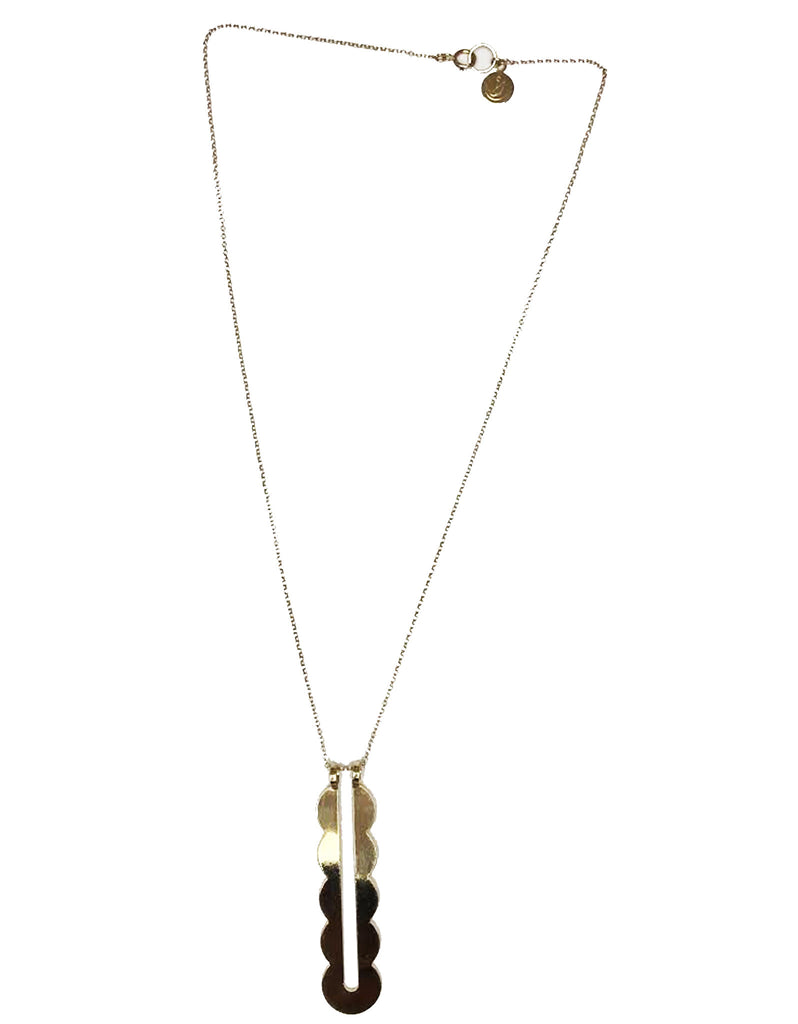 SEAWORTHY VERTE NECKLACE - SWANK - Accessories - 1