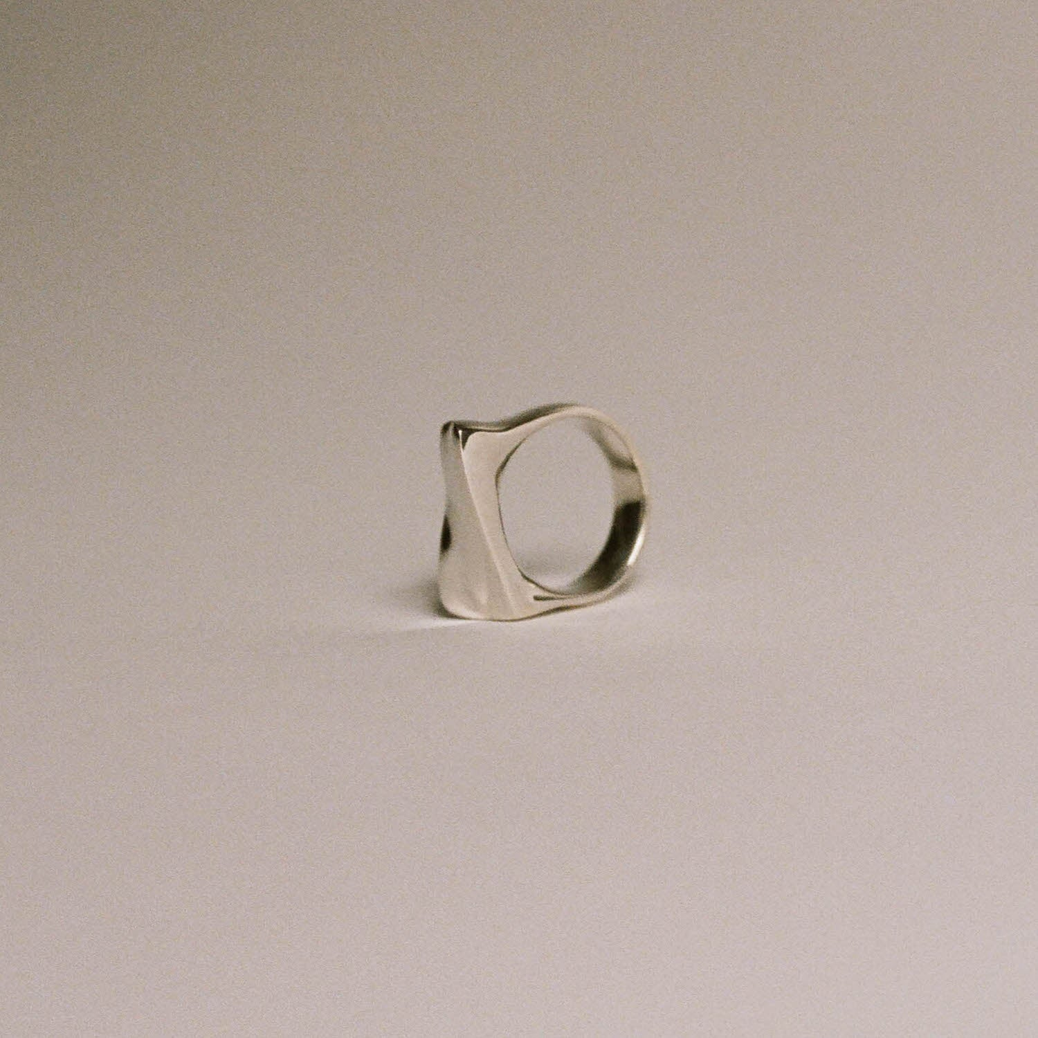 Asymmetric Sculpt Ring