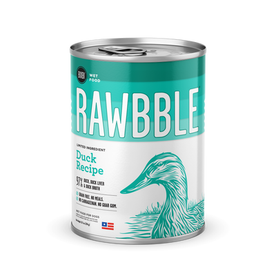 RAWBBLE Wet Food - Duck Recipe