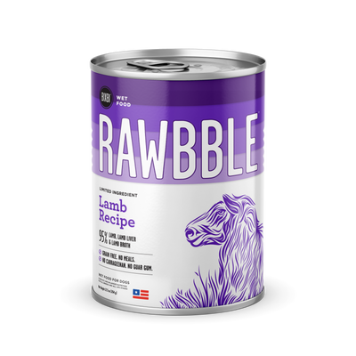 RAWBBLE Wet Food - Lamb Recipe