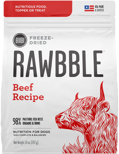 RAWBBLE Freeze Dried Food - Beef Recipe