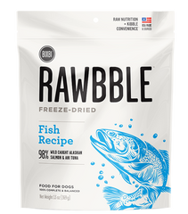 RAWBBLE Freeze Dried Food for Dogs - Fish