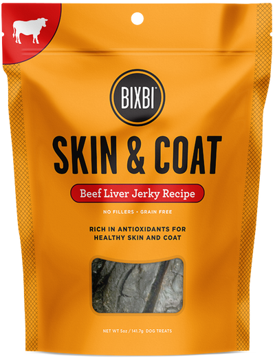 SKIN AND COAT - Beef Liver