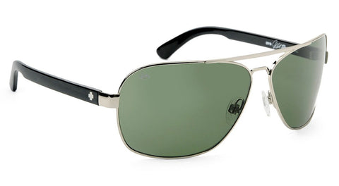 SPY SHOWTIME SILVE WITH GREY/GREEN LENS