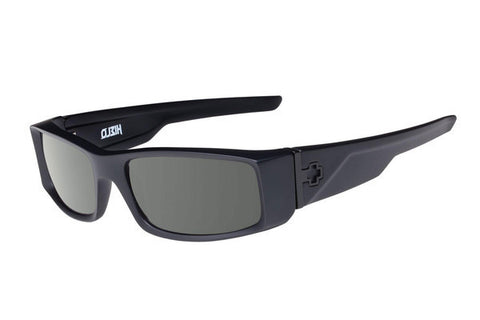 SPY HIELO SOFT MATTE BLACK SUN GLASSES