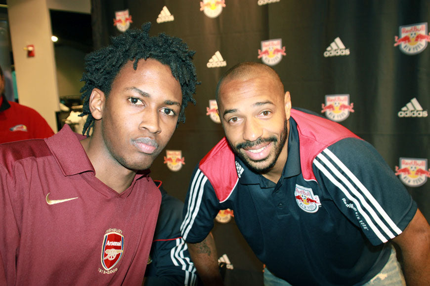 Thierry Henry Red Bulls Adidas store