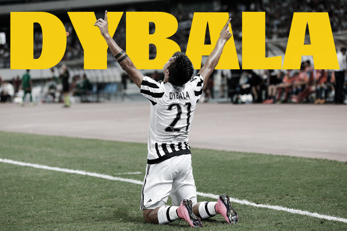 Dybala, a true STARBOY celebrates a goal for Juventus