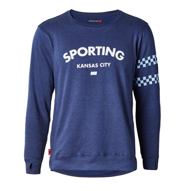 Sporting KC Navy Sweatshirt
