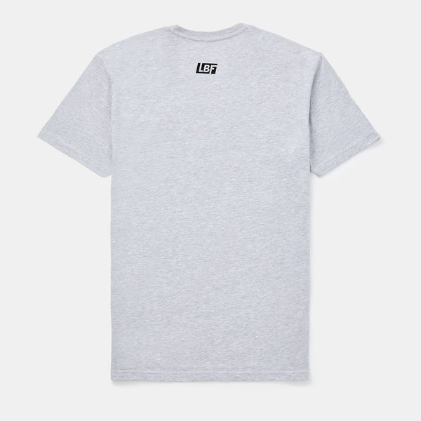 Futbol Script Tee (Heather Gray)