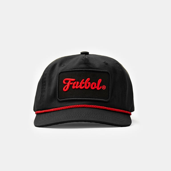 Futbol Rope Cap (Black)