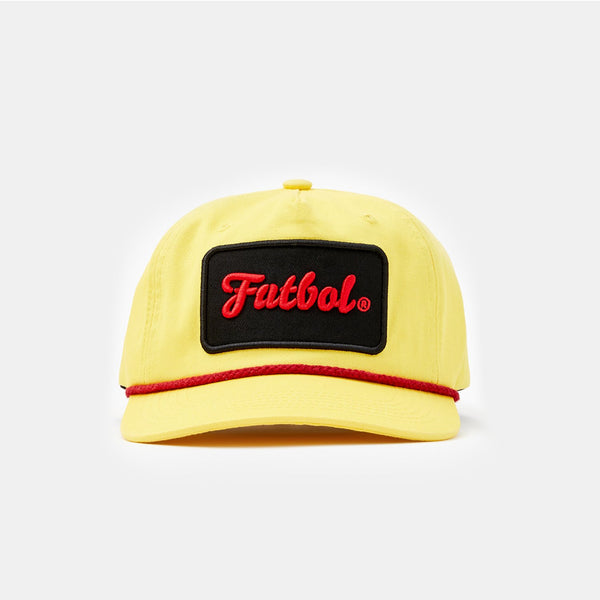 Futbol Rope Cap (Yellow)
