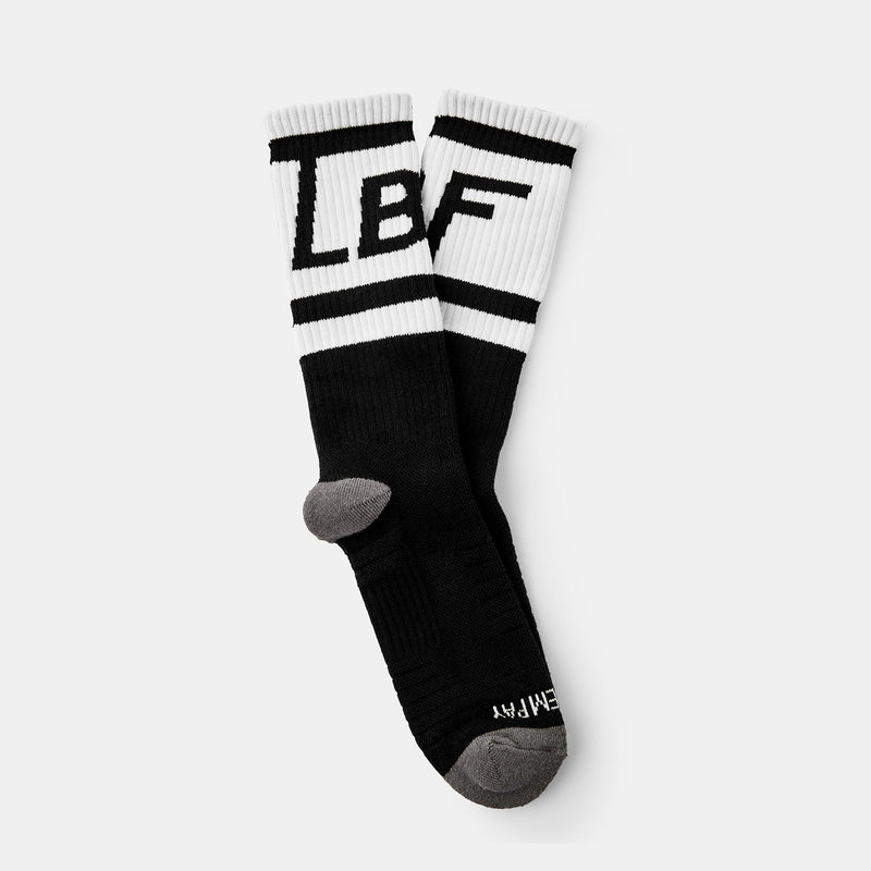 Box Logo Socks (Black+White)