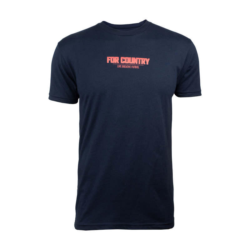 "Men's ""For Country"" SS Tee - Navy"