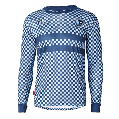 Sporting KC Checkered Long Sleeve Shirt