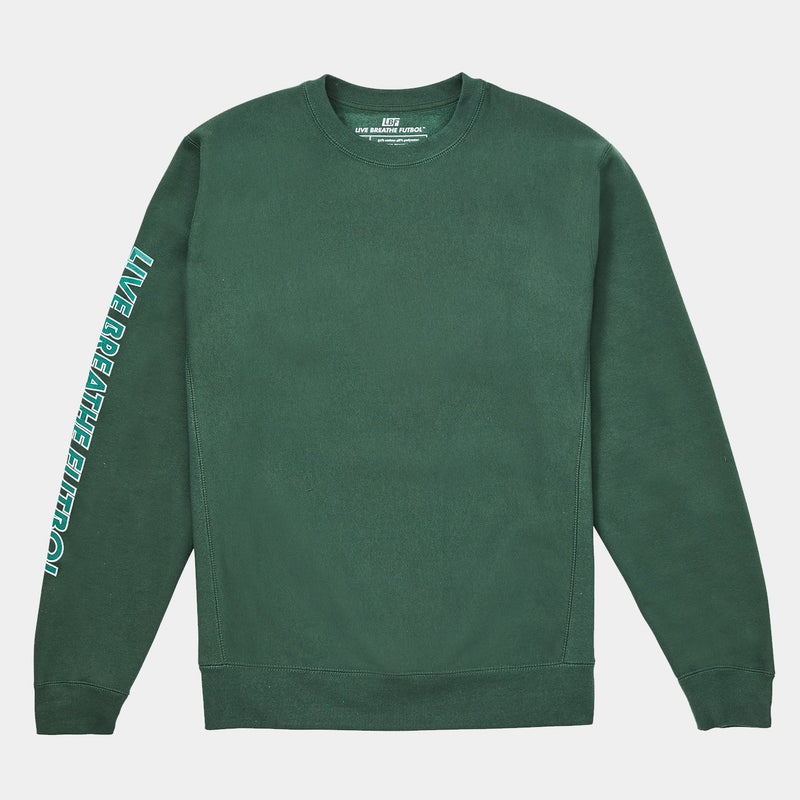 Impossibly Heavyweight Crewneck (Alpine Green)