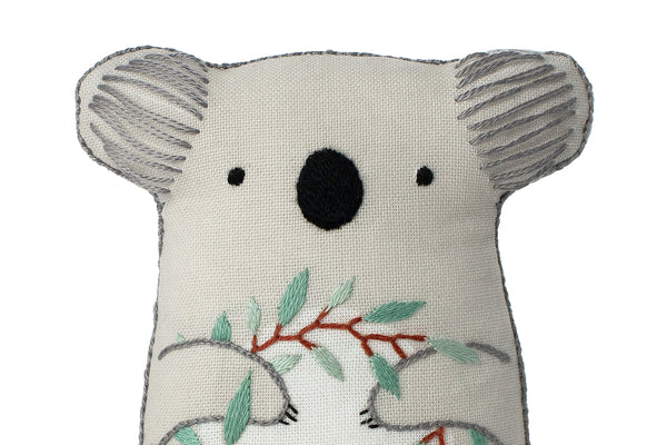 Koala DIY Embroidered Doll Starter Kit