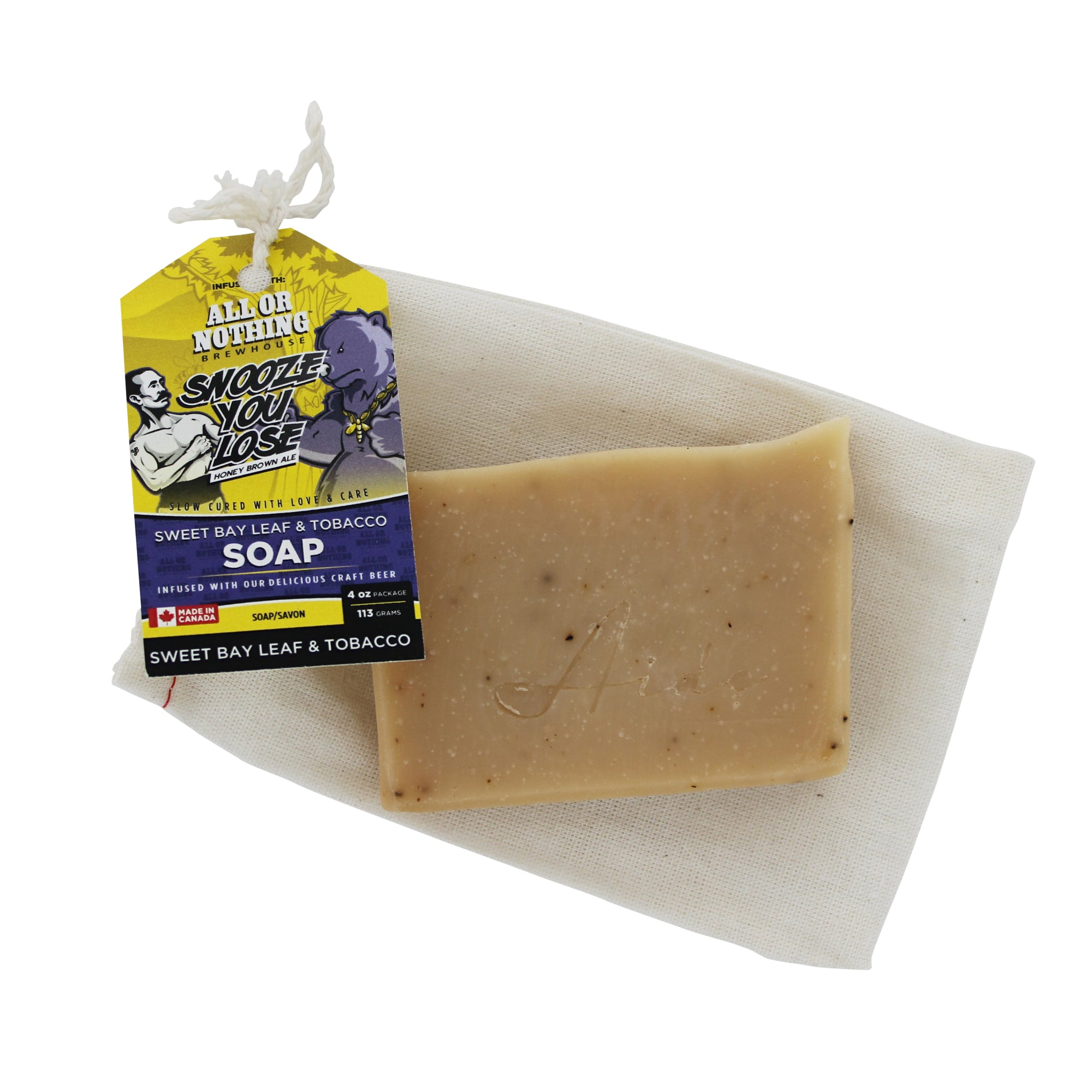 AIDE Bodycare All Or Nothing Brewhouse Soap