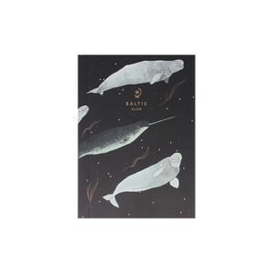 Narwhal Linen Notebook