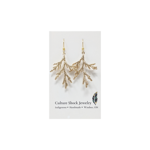 Cedar Earrings